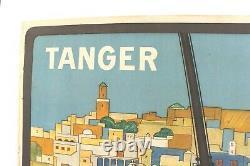 Affiche Tourisme Orientaliste Tanger J. Majorelle 1924 Marrakech Baconnier Alger