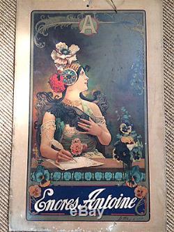 Affiche ancienne Hingre carton publicitaire 1900