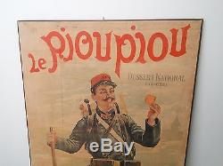 Affiche ancienne biscuit pernot