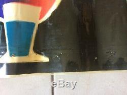 Affiche ancienne plastifiée BP ENERGOL signée GUY GEORGET