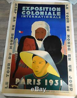 Affiche ancienne publicitaire originale