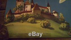Affiche ancienne suisse Martin Peikert la Gruyere