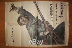 Affiche de propagande originale 1ère GM On les aura! 1915, Abel Faivre