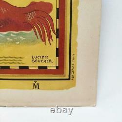 Affiche géographie Indochine française Lucien Boucher de 1946