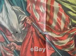 Affiche l'emprunt de la libération 1ère guerre mondiale