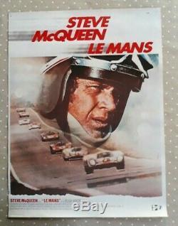 Affiche original Steve McQueen le Mans (24 heures du Mans)