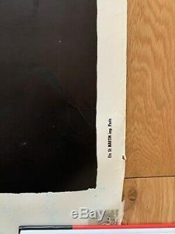 Affiche originale CONTREX VILLEMOT 120170cm