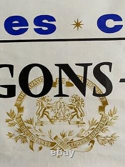 Affiche originale Wagons-Lits voyage confort