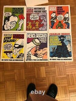 Affiches CHARLIE Hebdo Lot De 43