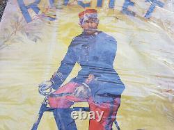 Ancien et originale affiche Cycles ROCHET (Schneider) signée Pichat 1900
