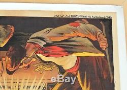 Ancienne Affiche publicitaire FINE ARMAGNAC par Ogé