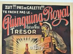 Ancienne Affiche publicitaire QUINQUINA ROYAL par Ogé