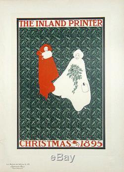 BRADLEY Will, CHRISTMAS 1895 Maîtres de l'Affiche Planche originale n° 172