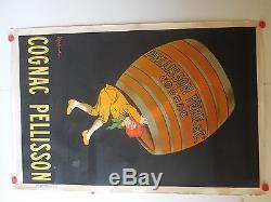 Belle affiche ancienne Cognac Pelisson par Cappiello