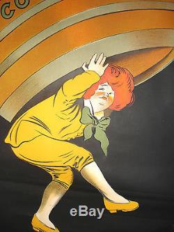 Belle affiche ancienne Cognac Pelisson par Cappiello 120 cm par 80 cm, original