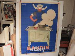 Belle affiche ancienne cuisiniere Baudin par Cappiello