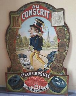 CALENDRIER ART NOUVEAU AU CONSCRIT Fil en capsule 1913
