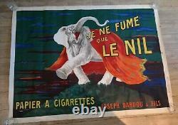 CAPPIELLO JE NE FUME QUE LE NIL Affiche ORIGINALE 1912