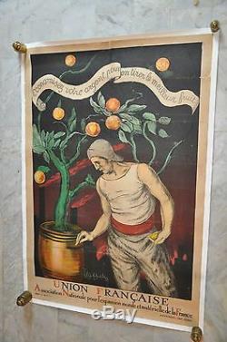 Cappiello Leonetto Union Française. Rare /