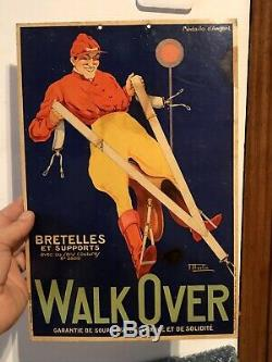 Carton Pub Ancien Bretelles WALK OVER