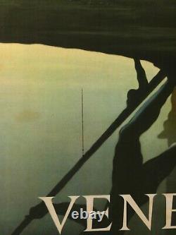 Cassandre Affiche Ancienne Venezia Vintage Poster 1951