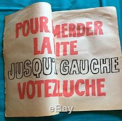 Charlie Hebdo Hors Série Spécial Coluche par Siné Avril 1981 21 Affiches