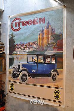 Citroën automobile modèle années 1930 par Pierre Louys