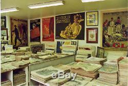 Collection Unique 80000 Affiches, Dessins, Photos, Documents, Vinyls Originaux