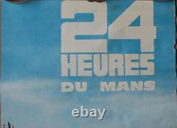 D542 24 Heures Du Mans 1 Affiche 1965 Format 60 X 40 CM Mauvais Etat