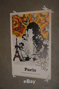 Dali Sncf affiche série complète