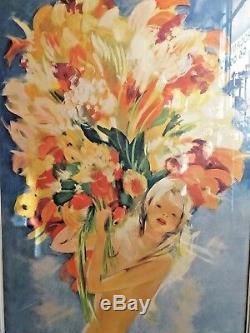 Domergue J Gabriel Monaco Principauté affiche vintage poster Monte Carlo 196