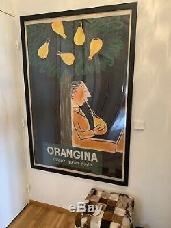 Exceptionnelle maquette originale Savignac pour Orangina 1964
