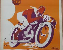 Geo Ham Mcf. 1 X Affiche. Format 29,8 X 40,5 Cm. Tres Bel Etat