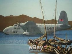 HILDER Rowland FLY TO THE FAR EAST B. O. A. C Vintage Original Poster Affiche