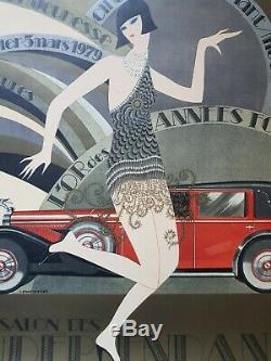 J. Monneret Affiche du Salon Des Indépendants- 1979
