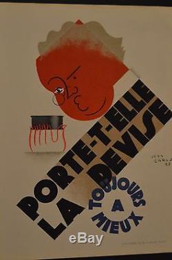 Jean Carlu Amieux affichette