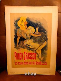 Jules CHERET Le PUNCH GRASSOT Les Maitres de l'Affiche PL. 5 1895