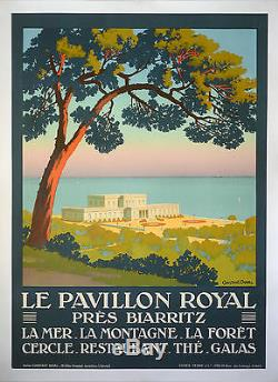 LE PAVILLON-ROYAL près BIARRITZ 1920 CONSTANT DUVAL