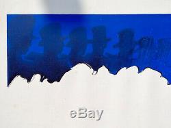 LIDO René gruau-Lithographie originale signée au crayon-tirage limité