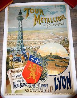Lyon Tour Metallique De Fourviere