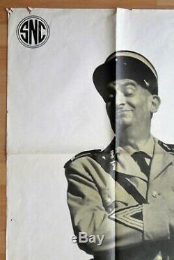 Le GENDARME de SAINT-TROPEZ Louis De FUNES Rare 1er tirage Original de 1964