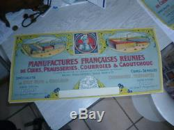 Lot 100 affichettes Ancienne litho de 1900