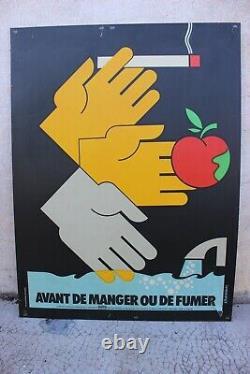 Lot l'affiches de prevention INRS 1980 CHADEBEC