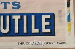 Lu Lefevre Utile. 1 X Affiche. Format 125 X 180 Cm. Bel Etat