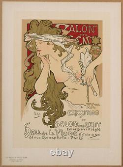 MUCHA XXe SALON DES CENT HALL DE LA PLUME LES MAITRES DE L'AFFICHE PL. 94