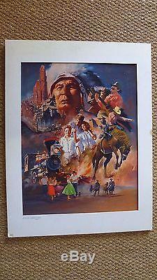 Maquette originale affiche disneyland paris. 15 p. Signé THOS YVES (67 x 52)