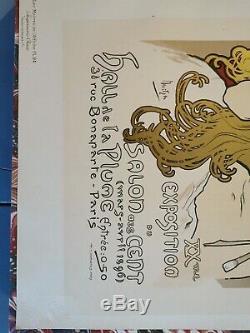 Mucha Original Litho Salon Des Sens Maîtres De L'affiche 1897 Poster Authentique