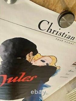 Old Fashion Poster Christian Dior Signed by R. Gruau Affiche Vintage 1984