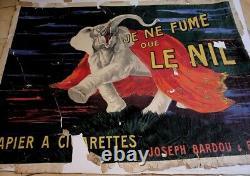 Original Lithographic-Affiche Pub-Cappiello-Je Ne Fume Que Le Nil-120x160-1912