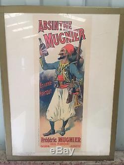 Original les maîtres de l affiche ABSINTHE MEUNIER PL 135